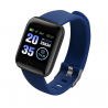 For iOS & Android Fitness Tracker 116 PLUS Smart Watch Heart Rate Blood Pressure