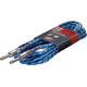 S-Series, phone-plug/phone-plug, Vintage Tweed Instrument cable  Blue 6 m