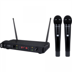 Kam KWM6 kit VHF wireless mic set