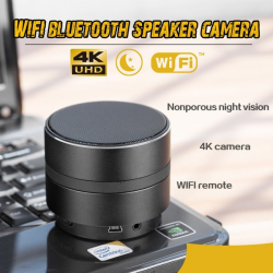Bluetooth Speaker With WiFi Camera