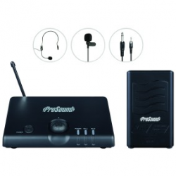 Prosound VHF wireless set L58 AW