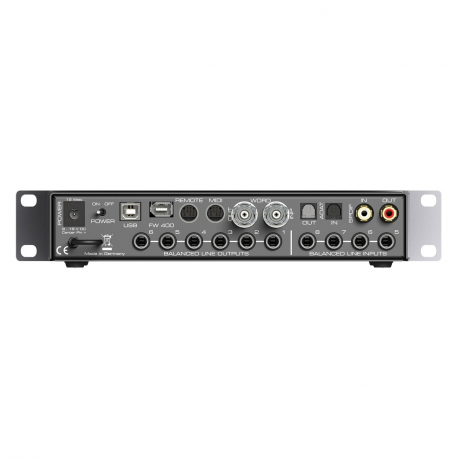RME Fireface UCX USB/Firewire and iPad Audio Interface