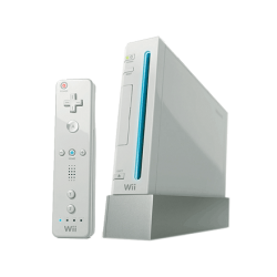 Nintendo Wii with controller