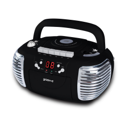 Groove boom box portable CD player