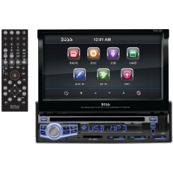 "Electronics car audio stereo 7""  DVD System"