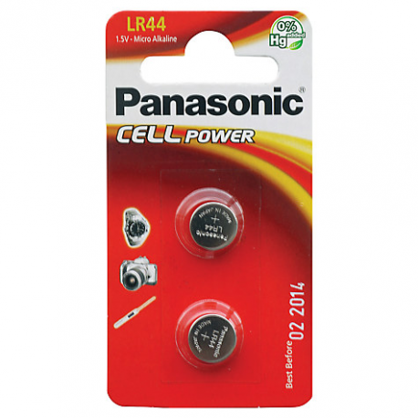 Panasonic 1.5V batteries