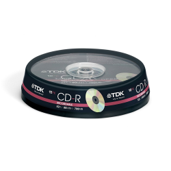 CD-R recordable TDK audio 80mins CD-R