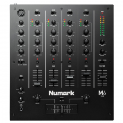 NUMARK M6 FOUR CHANNEL USB DJ MIXER